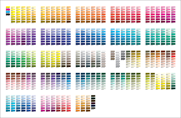 Modern Press Print Tips The Difference Between Cmyk And Pms Colors